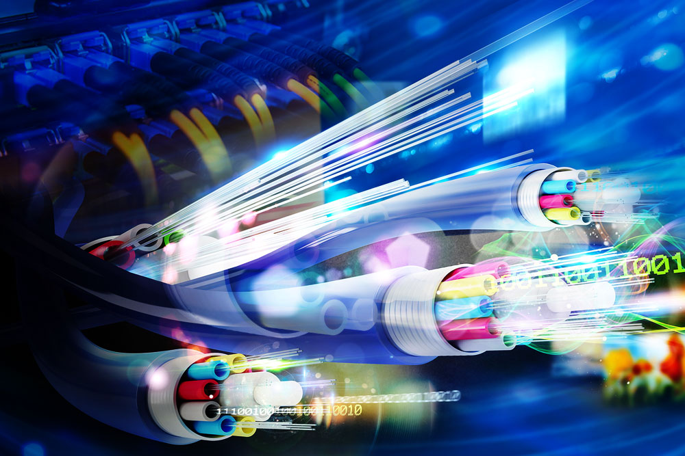Things to consider when you're Fiber optic connected