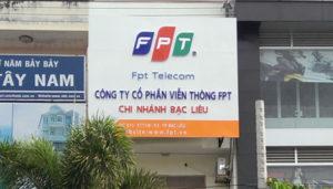 Van phong FPT Bac Lieu