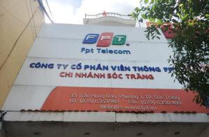 Van phong FPT Soc Trang