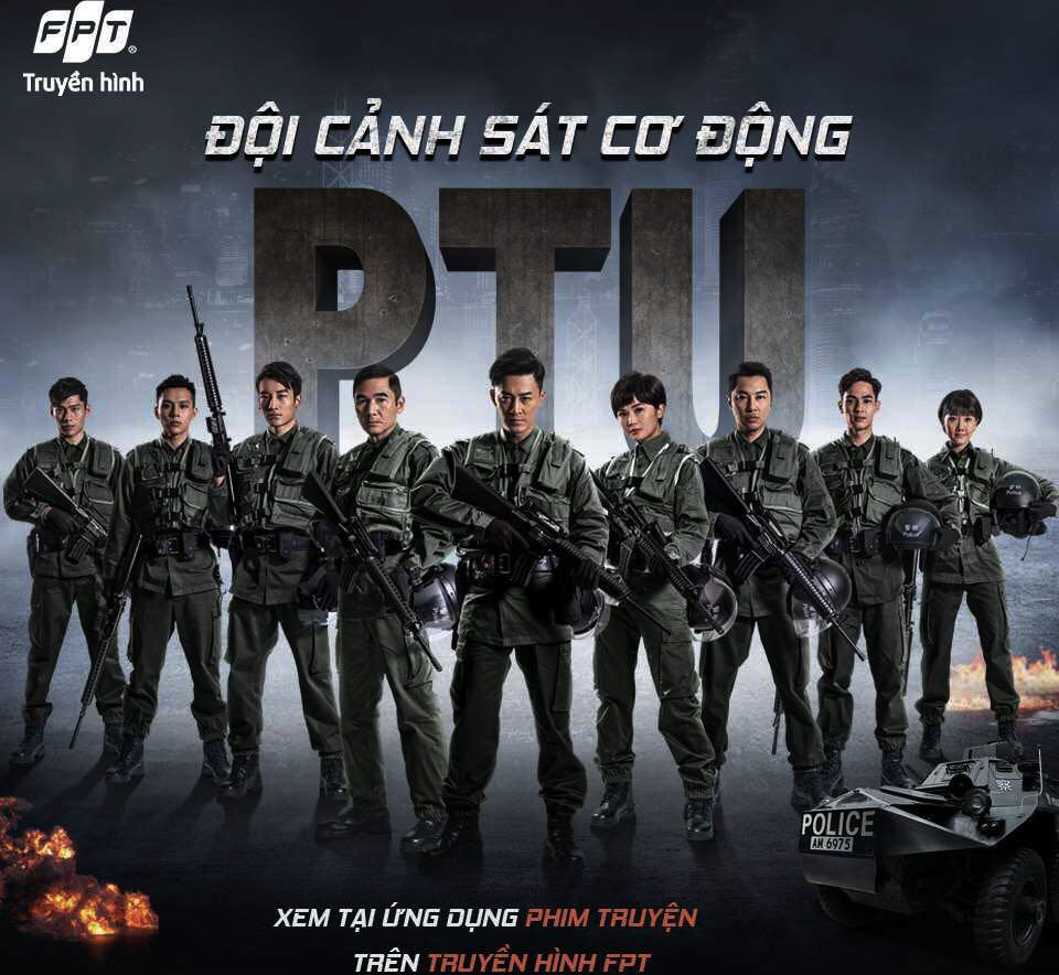 Doi canh sat co dong truyen hinh fpt